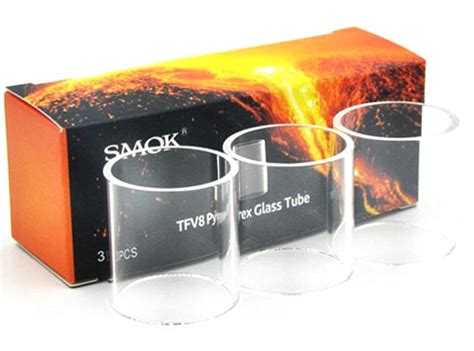 Smok Tvf8 Baby Beast Glass Replacement Pyrex Tank Kaca Rta Rba smok tfv8 baby beast replacement glass