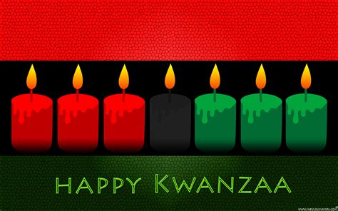 free happy kwanzaa day computer desktop wallpaper