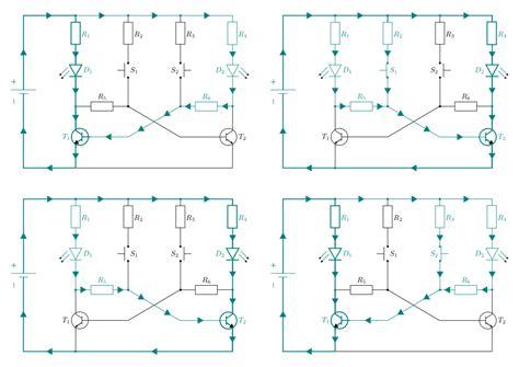transistor bc547 funktion grundschaltungen grundwissen elektronik 28 images led diode vorwiderstand 28 images