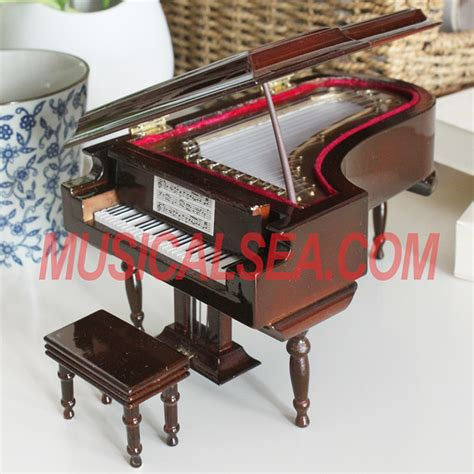 Handmade Piano - miniature piano musical instrument handmade craft