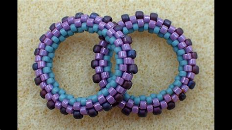 seed bead tutorials 3d peyote circle seed bead tutorials seed bead
