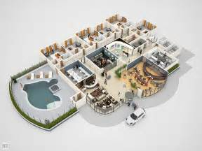 1 Bedroom Apartment Floor Plans conceptual 3d hotel floor plan for e learning jericho
