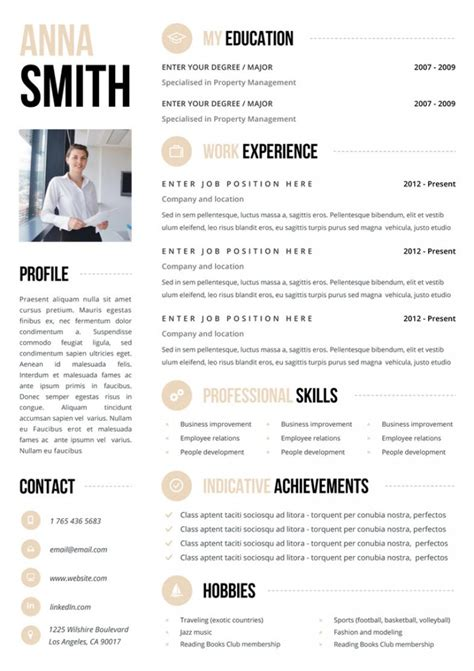 Looking For A Job You Need One Of These Killer Cv Templates From Etsy Career Girl Daily Best Looking Resume Templates