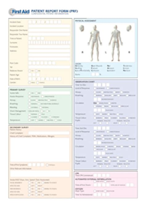 patient report form template a guide for aid aid international