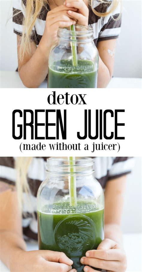 Detox Without Juicing by Detox Green Juice Savory Lotus
