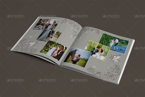 Wedding Album Romantica Psd by Wedding Album Romantica By Rosfancy Graphicriver