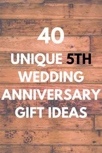 5 Year Favor Ideas by 5th Wedding Anniversary Gifts Discover 40 Unique And