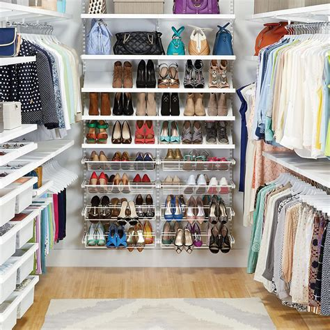 Closet Organizer Container Store by Clothes Closet White Elfa D 233 Cor Walk In Clothes Closet