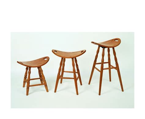 Bar Stools Made From Saddles by Four Seasons Furnishings Amish Made Furniture Swiivel
