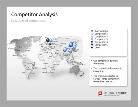 competitor analysis template powerpoint 86 best images about business strategy powerpoint