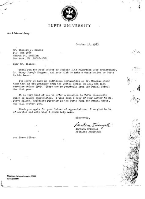 Allegheny College Letter Of Recommendation Phillip Bianco Letters Effective Discovery