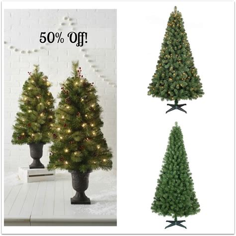 hot 50 off target wondershop christmas trees