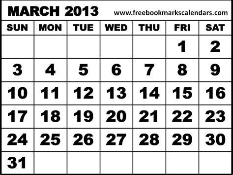 March 2013 Calendar 2013 Calendar To Print Ideas Free Printable 2013 March