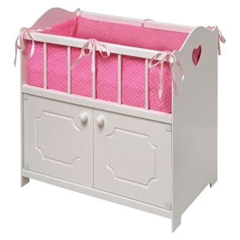 Badger Basket Storage Doll Crib White Target