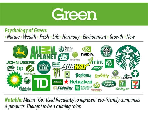 green corporate logos how to choose the best color for conversion