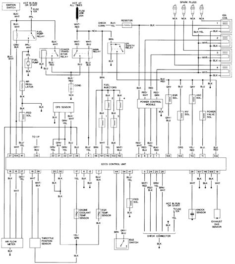 1999 nissan pulsar stereo wiring diagram 40 wiring