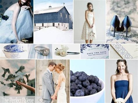 blue color palette wedding something blue a palette of shades of blue gray white