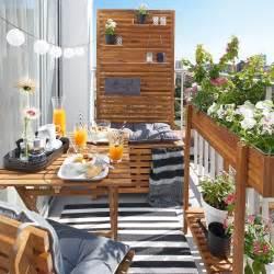 dekoration balkon sichtschutz bank akazie fsc 80x44x170 cm natur depot de