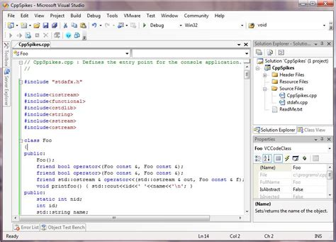Visual C 5 most popular c ide compiler used to run c program