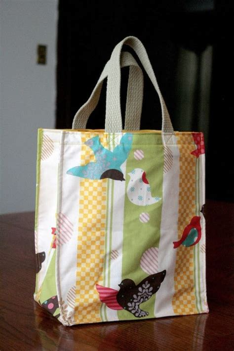 homemade tote bag pattern the incredible 1 hour tote bag easy sewing pattern