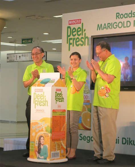Cloudy Sensasi marigold peel fresh lancar jelajah pendidikan seluruh