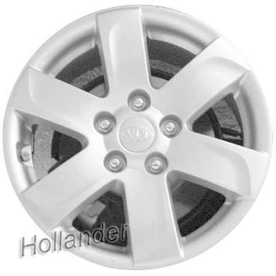 Kia Rondo Tire Size 2007 2010 Kia Rondo Wheels Silver Rims 74590