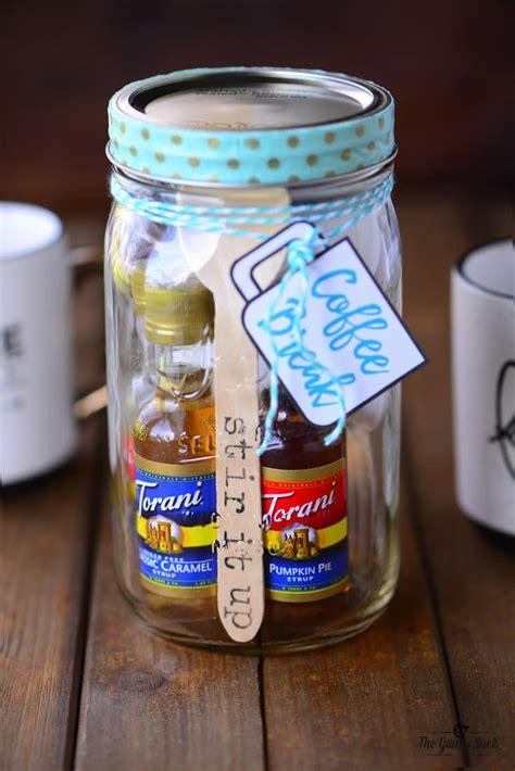 Gifts Jars - coffee jar gift the gunny sack