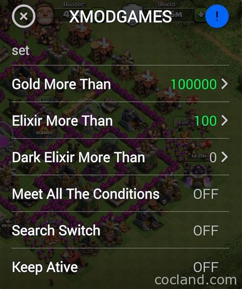 x mod game clash of clans pc xmodgames best tool for clash of clans