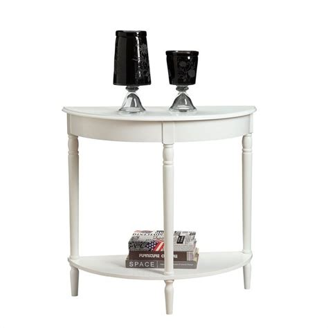 white entry table entryway table white 6042182w