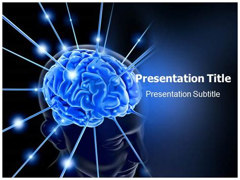 brain powerpoint presentation backgrounds slideworld
