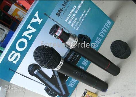 Microphone Mic Sony Wireless Sn 87 brand new box sony sn 368a dynamic vo l karaoke microphones bluetooth lapel microphone