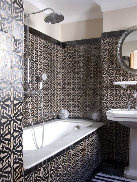 moroccan tiles bathroom hotel nord pinus tanger in morocco design sponge