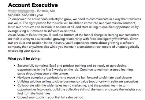 blogger job description sales hiring the ultimate guide