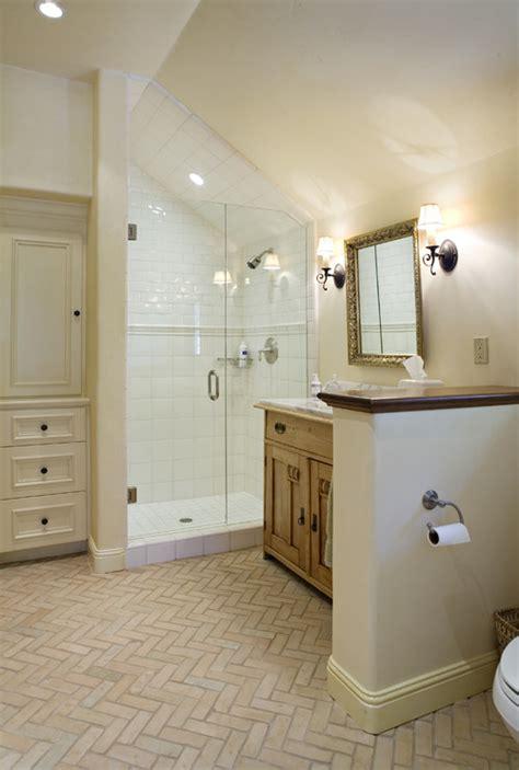 Slanted Ceiling Bathroom how di i apply ceramic tiles to slanted ceiling