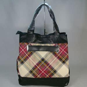 Tas Wanita Plaid Garden Bag branded handbags burberry plaid