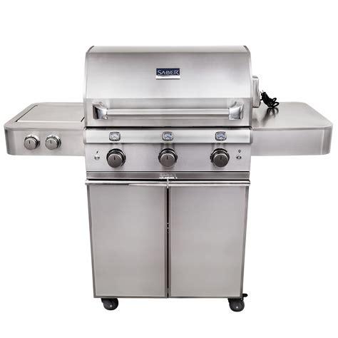 infrared gas grill reviews saber sse1500 3 burner infrared gas grill review
