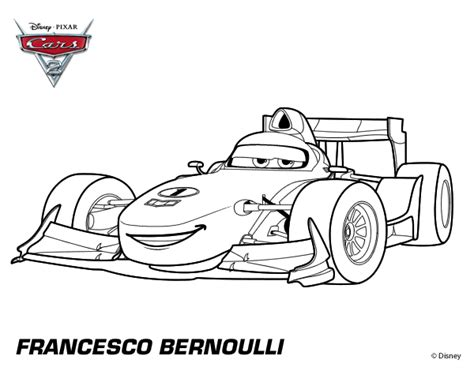 Free Coloring Pages Of Bernoulli Cars 2 Coloring Pages Francesco