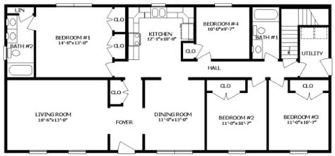 bradford floor plan bradford i by professional building systems ranch floorplan