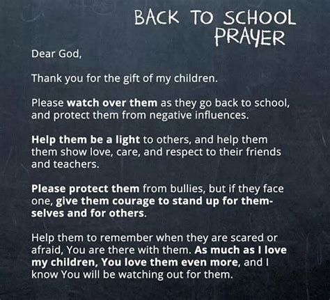 prayer for the new school year back to school prayer thoughts for today and everyday