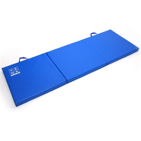 Workout Mats by Tri Folding Exercise Thick Mat Workout