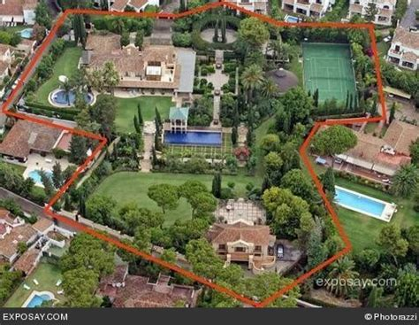 A Mansion For David Beckham Say No Way by Homes Of David Beckham