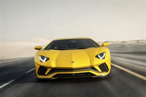 Lamborghini Aventador S 2017 Lamborghini Aventador S Unveiled With 740 Ps Four