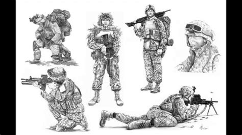 imagenes de soldados realistas dibujos de soldados dibujos