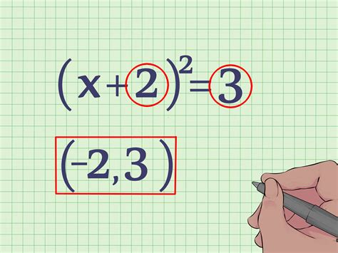 Do Find How To Find The Vertex Of A Quadratic Equation 10 Steps