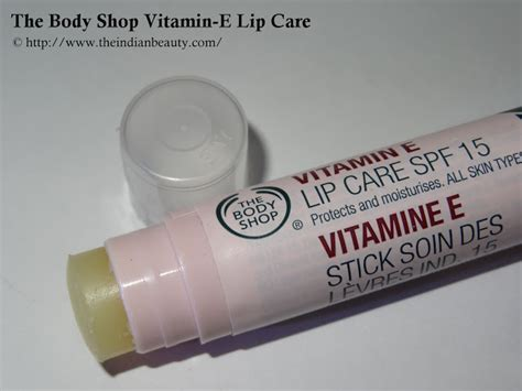 The Shop Vitamin E Lip Care the shop vitamin e lip care spf 15 review the