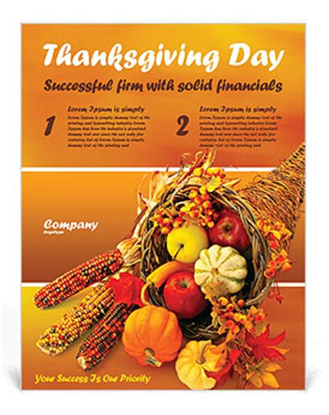 microsoft templates for thanksgiving flyers thanksgiving flyer template design id 0000000721