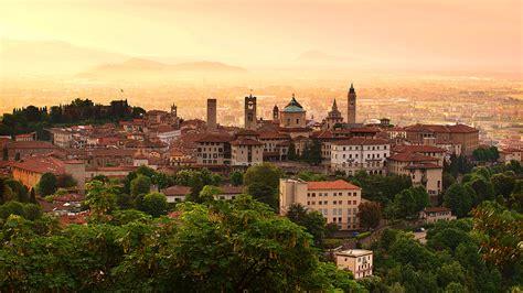 Town In Italy Bergamo
