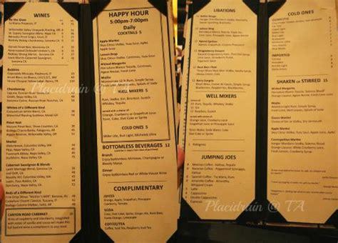 wicked spoon drinks menu picture of wicked spoon buffet