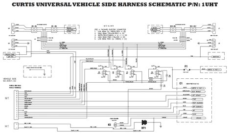 sno way plow wiring diagram wiring diagram and schematic