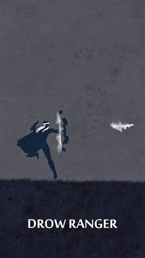 wallpaper dota 2 untuk iphone dota 2 drow ranger tap image for more dota 2 iphone